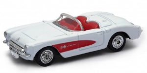 Chevrolet 1957 Corvette Cabrio - Welly 1:64