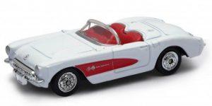 Chevrolet 1957 Corvette Cabrio - Welly 1:64