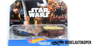 Star Wars Luke Skywalker (Jedi Knight) VS. Rancor - Hot Wheels 1:64