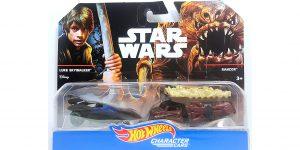 Star Wars Luke Skywalker (Jedi Knight) VS. Rancor - Hot Wheels 1:64