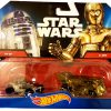 Star Wars R2-D2 VS. C-3PO - Hot Wheels 1:64