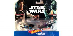 Star Wars Han Solo VS. Greedo - Hot Wheels 1:64