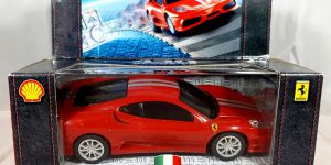 Ferrari 430 Scuderia (Shell Edition) - Hot Wheels 1:38