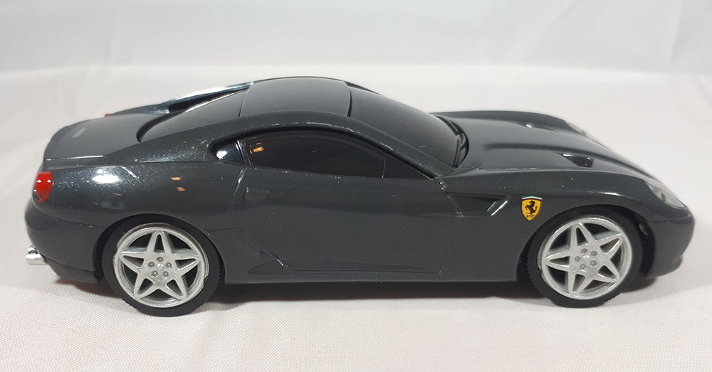 Ferrari 599 GTB Fiorano (Shell V-Power Edition) - Hot Wheels 1:38