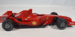 Ferrari F2008 (Shell V-Power Edition) Rood - Hot Wheels 1:38
