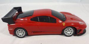 Ferrari 360 GTC (Shell V-Power Edition) Rood - Hot Wheels 1:38