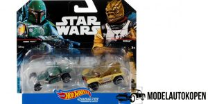 Star Wars Boba Fett VS. Bossk - Hot Wheels 1:64