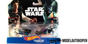 Star Wars Han Solo VS. Greedo - Hot Wheels 1:64