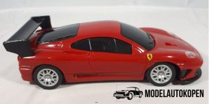 Ferrari 360 GTC (Shell V-Power Edition) Rood - Hot Wheels 1:38