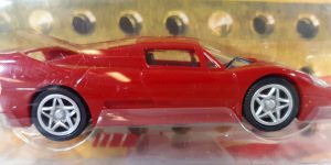 Ferrari F50 (Shell V-Power Edition) - Hot Wheels 1:38