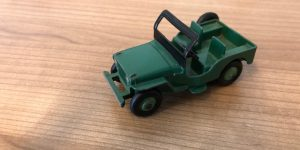 Dinky Toys 25Y Jeep