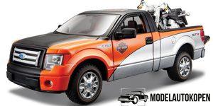 Ford F-150 STX (Zwart/Oranje) 1:24 Maisto