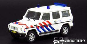 Mercedes-Benz G-Klasse Politie Nederland 1:43 Cararama
