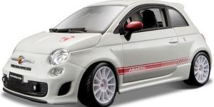 Abarth 500 Esseesse wit - Bburago 1:24