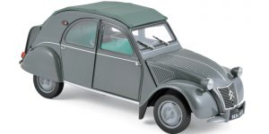 Citroën 2CV Dealer Model (Grijs) 1:43 Atlas kopen? Modelautokopen.nl