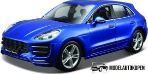 Porsche Macan (Blauw) 1:24 Bburago