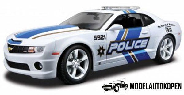Chevrolet Camaro SS RS (Wit) 1:24 Maisto