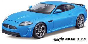 Jaguar XKR-S (Blauw) 1:24 Bburago