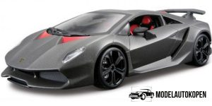 Lamborghini Sesto Elemento (Mat Grijs) 1:24 Bburago