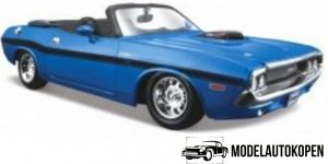 Dodge Charger R/T Convertible (Oranje) 1:24 Maisto