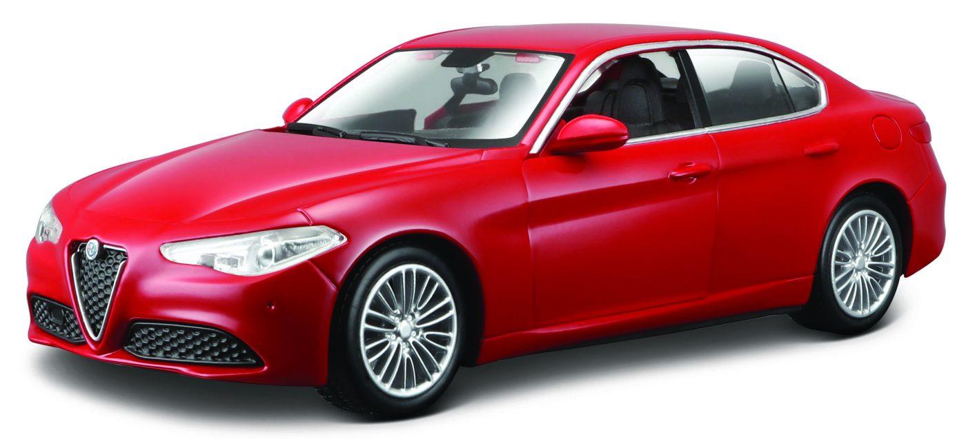 Alfa Romeo Giulia (rood) 124 Bburago