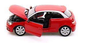 Audi A1 (Rood) 1:24 Bburago