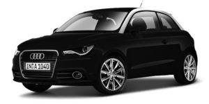 Audi A1 (Zwart) 1:24 Bburago
