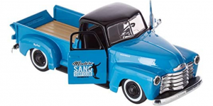 Chevrolet 3100 Pickup (Blauw) 1:24 Maisto