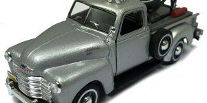 Chevrolet C3100 Takelwagen (Zilver) 1:43 Cararama
