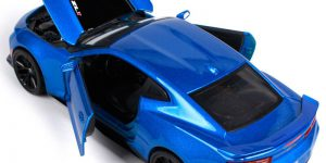 Chevrolet Camaro SS RS (Blauw) 1:24 Maisto