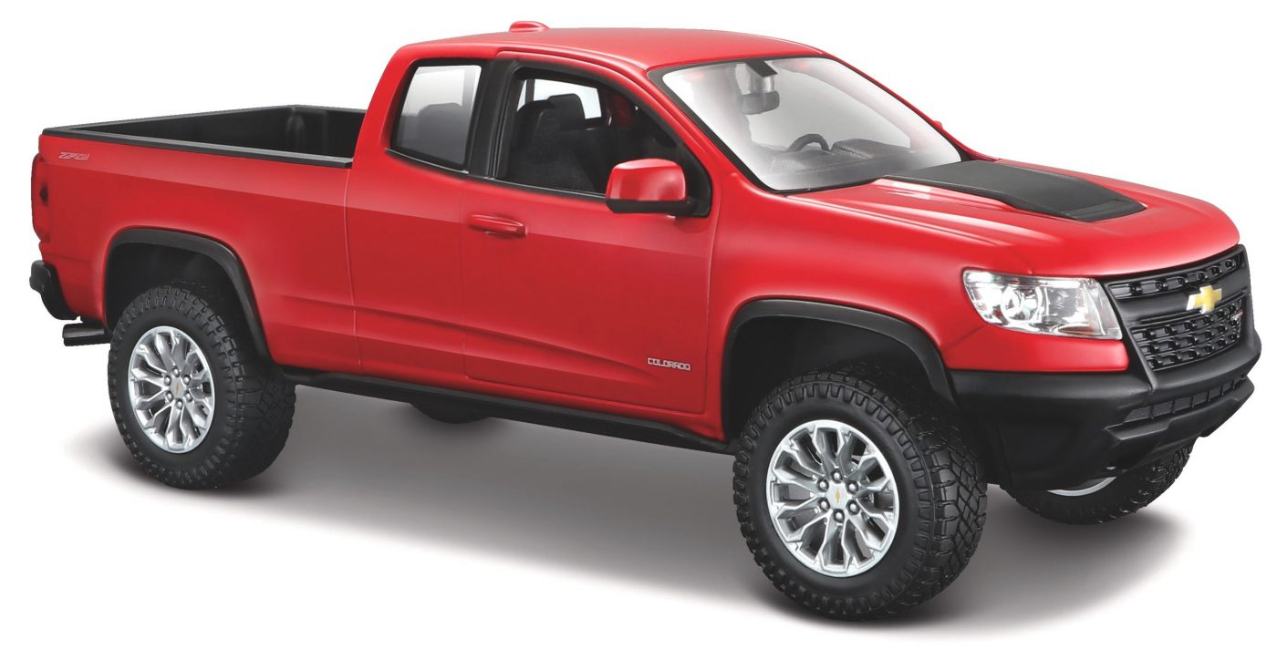 Chevrolet Colorado ZR2 (Rood) 1:24 Maisto