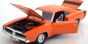 Dodge Charger R/T (Oranje) 1:24 Maisto