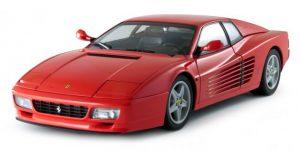 Ferrari Testarossa 1984 1:18 (Rood) Bburago