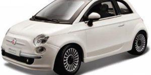 Fiat 500 2007 (Wit) 124 Bburago