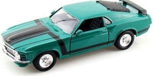 Ford Mustang Boss 302 (Groen) 1:24 Maisto