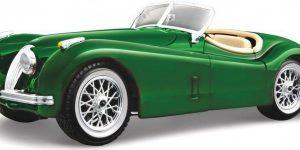 Jaguar XK 120 Roadster (Groen) 1:24 Bburago