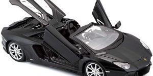 Lamborghini Aventador LP 700-4 Roadster (Zwart) 1:24 Maisto