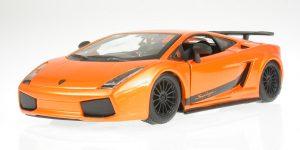 Lamborghini Gallardo Superleggera (Oranje) 1:24 Bburago