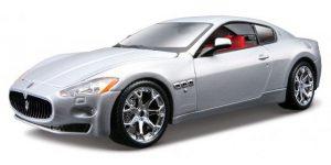 Maserati GranTurismo (Zilver) 1:24 Bburago