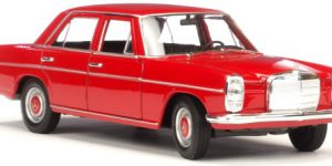 Mercedes-Benz 220 (Rood) 1:24 Welly