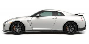Nissan GT-R 2017 (Wit) 1:24 Bburago
