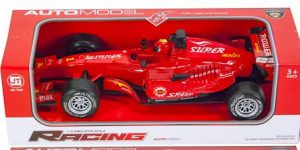Racing auto Formule 1 Rood (1:12 Jia Yue)