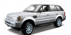 Range Rover Sport (Zilver) 1:18 Maisto