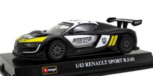 Renault Sport R.S. Interceptor (Zwart) 1:43 Bburago