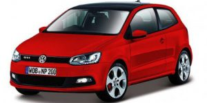 VW Polo GTI Mark 5 (Rood) 1:24 Bburago