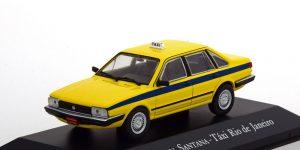 VW Santana Taxi Rio De Janeiro (Geel) 1:43 Atlas