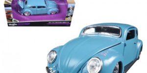 Volkswagen Beetle (blauw) 1:24 Maisto