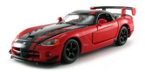Dodge Viper SRT 10 ACR (Rood/Zwart) 1:24 Bburago