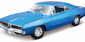 Dodge Charger R/T (Blauw) 1:24 Maisto