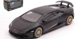 Lamborghini Huracan Performante (Mat Zwart) 1:43 Bburago